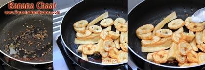 Banana Chaat Recipe step 2