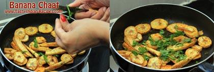 Banana Chaat Recipe step 5