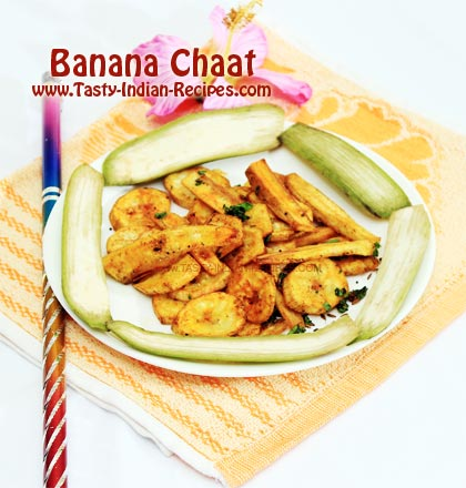 BaBanana Chaat Recipe
