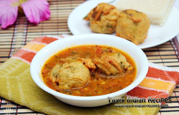Batata vada sambar recipe batata vada sambar forumfinder Image collections