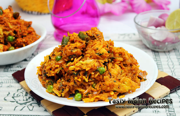 Vegetable Biryani Recipe How To Make Vegetable Biryani
