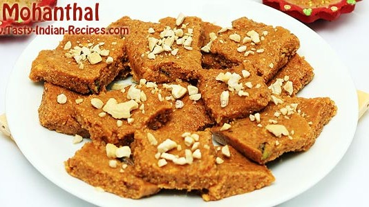 Mohanthal Recipe Featured