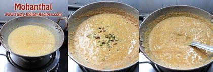 Mohanthal Recipe Step 1