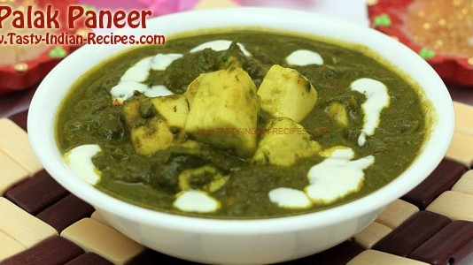 Palak Paneer Recipe Featured
