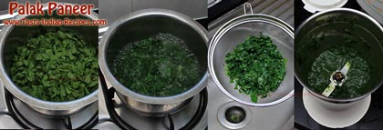 Palak Paneer Recipe Step 1