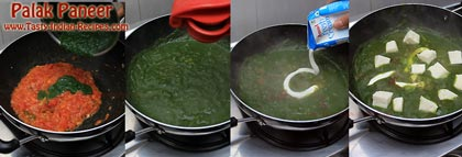 Palak Paneer Recipe Step 3