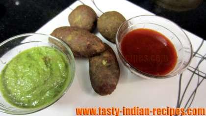 Pudina Dal Kebab Recipe