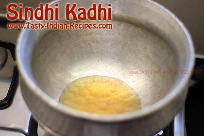Sindhi Kadhi Recipe Step 1