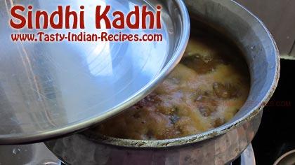 Sindhi Kadhi Recipe Step 11