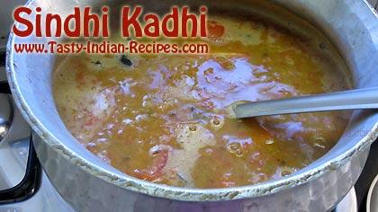 Sindhi Kadhi Recipe Step 12