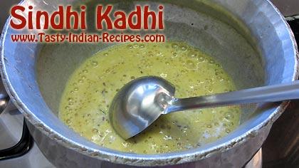 Sindhi Kadhi Recipe Step 3