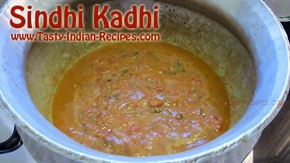 Sindhi Kadhi Recipe Step 5