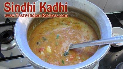 Sindhi Kadhi Recipe Step 7