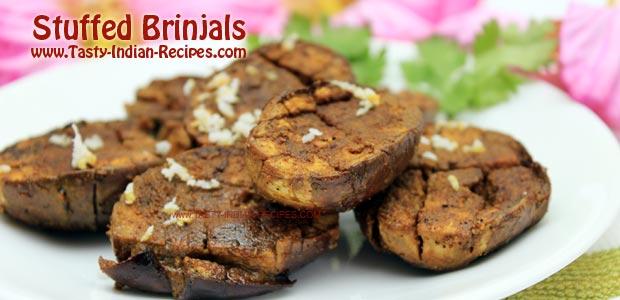 Stuffed Brinjals Recipe