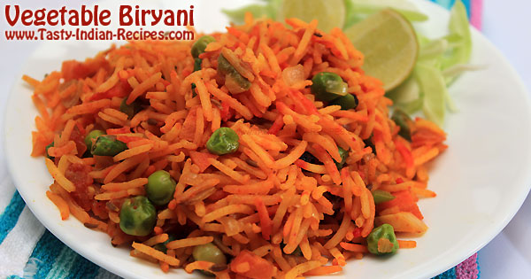 Vegetable Biryani Recipe With Step By Step Photographs