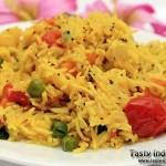 Vegetable Biryani in Pressure Cooker Recipe