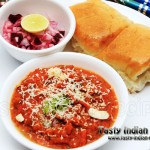 Cheese Pav Bhaji Recipe