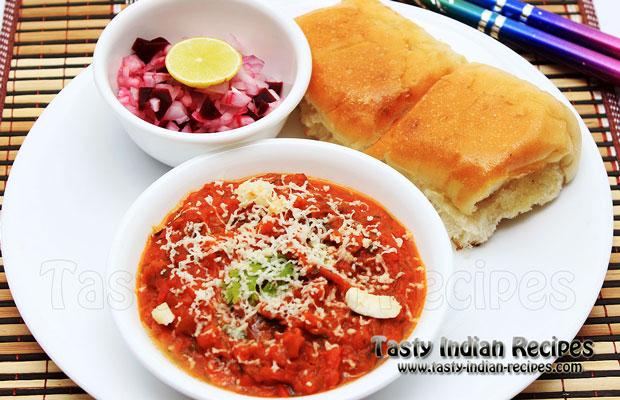 Cheese Pav Bhaji
