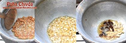 Poha Chivda Recipe step 2