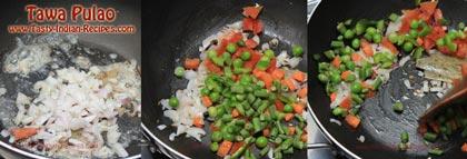 Tawa Pulao Recipe step 2