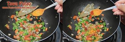 Tawa Pulao Recipe step 3