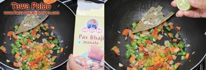 Tawa Pulao Recipe step 4