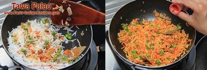Tawa Pulao Recipe step 6