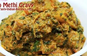 Aloo Methi Gravy - Featured