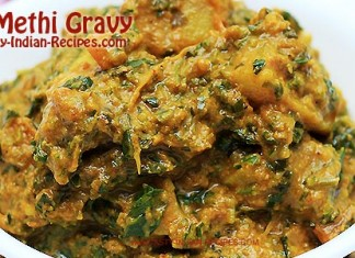 Aloo Methi Gravy - Featured