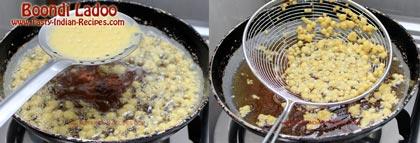 Boondi Ladoo Recipe step 3