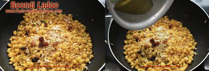 Boondi Ladoo Recipe step 4