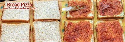 Bread Pizza Recipe step 1