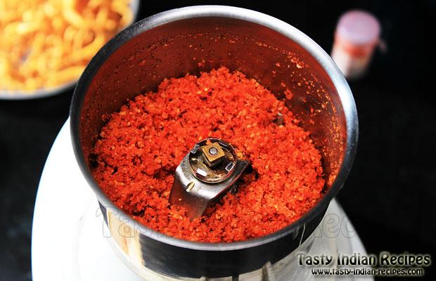 Dry Garlic Chutney Recipe Ready