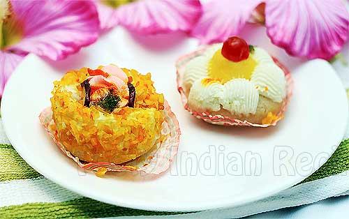 Pineapple Sandesh Recipe
