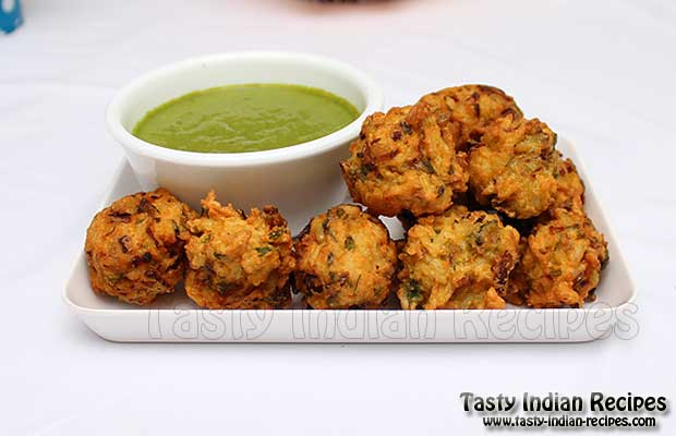 Rice Pakoda Recipe / Rice Pakora / Rice Fritters Recipe