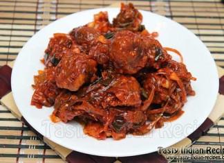 Schezwan Mushroom Dry Recipe