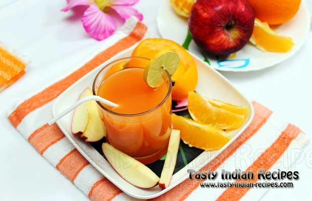 Mixed Fruit Juice Recipe