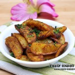 Aloo Wedges Recipe