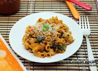 Easy Cheesy Vegetable Pasta