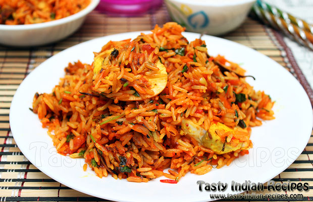 Egg Pulao Recipe