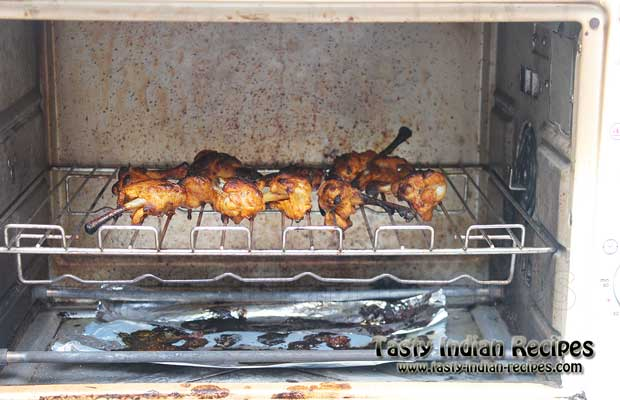 Tandoori Chicken Lollipops Recipe Step 6