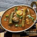 Araichu Vitta Sambar Recipe