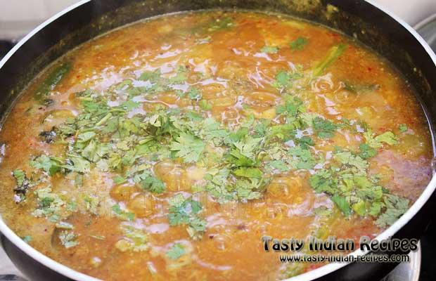 Araichu Vitta Sambar Recipe Step 13