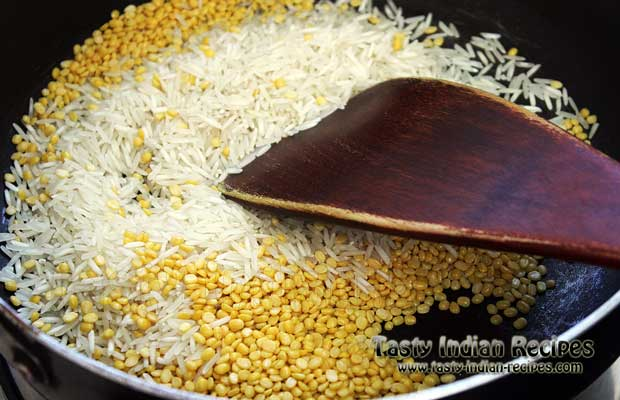 Pongal Recipe Step 1