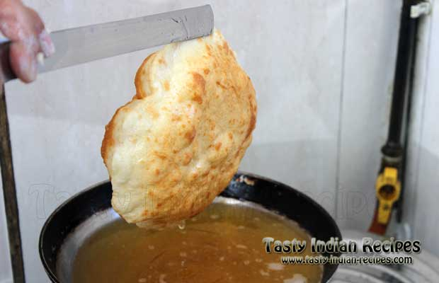 Bhatura Recipe Step 11