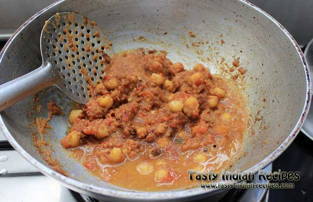 Chole Puri Recipe Step10