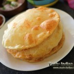 Paneer Stuffed Bhatura Recipe