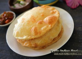 Indian snack recipes indian snacks recipes indian snack receipes paneer stuffed bhatura recipe forumfinder Choice Image