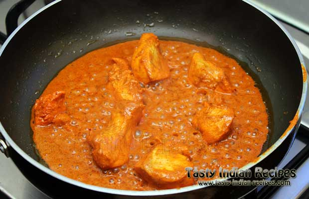 Chicken Masala in Red Spicy Gravy Recipe Step 7