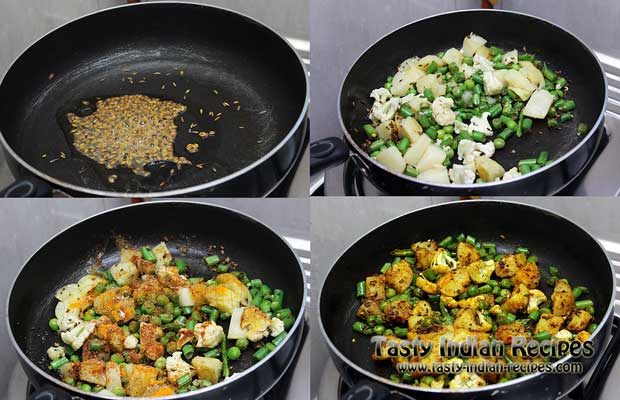 Mixed Vegetable Curry Recipe-Step4